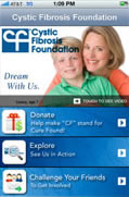 Screenshot Of CFF iPhone App