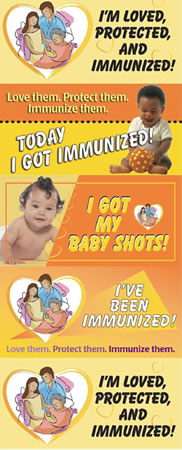 National Infant Immunuization Week Banner