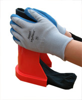 Gloves Can Assist Loading the Ezy-As™ Applicator